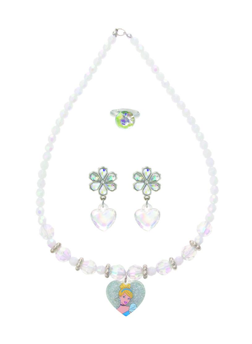 Cinderella kids jewellery set