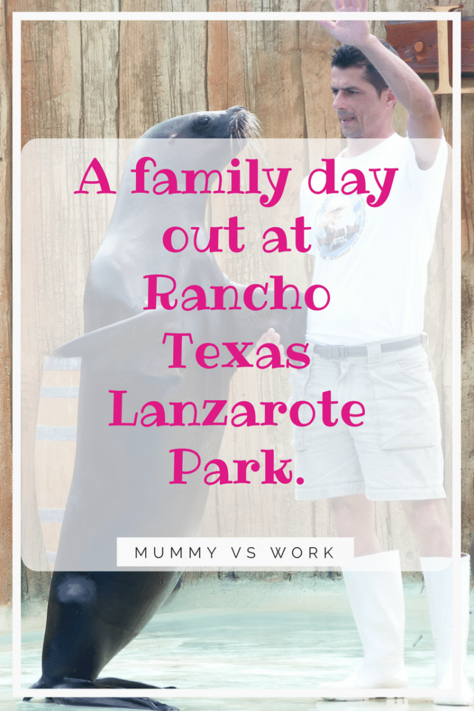A family day out at Rancho Texas Lanzarote Park.