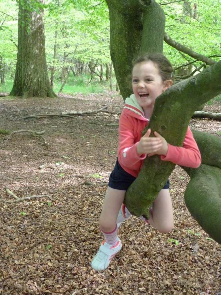 Nothing better as a kid than climbing trees!