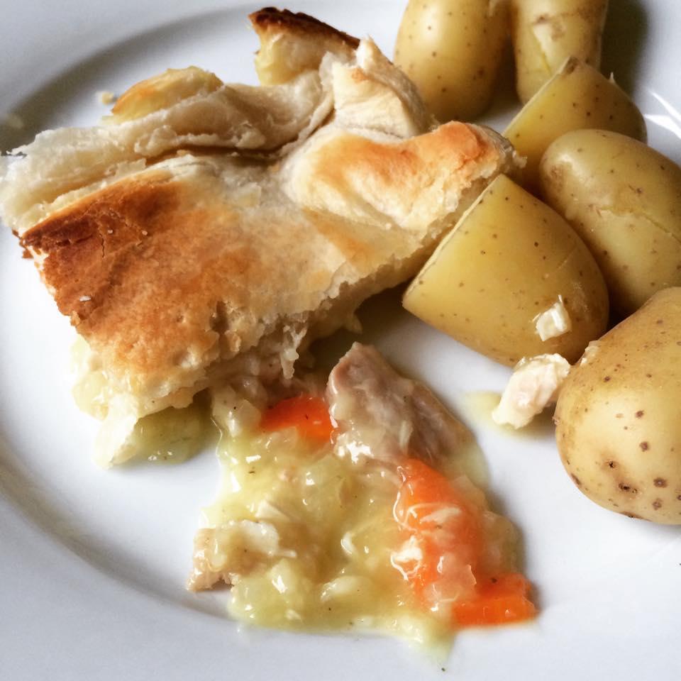 Leftover Turkey Pie