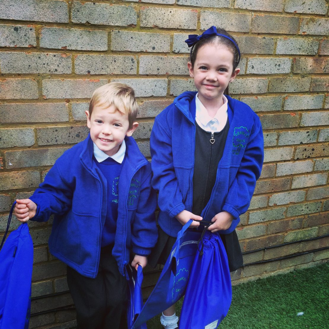 Dear Kayleigh and Ethan… another year at school done!