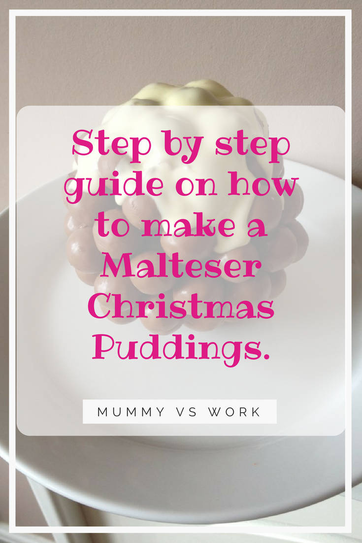 Malteser Christmas Puddings