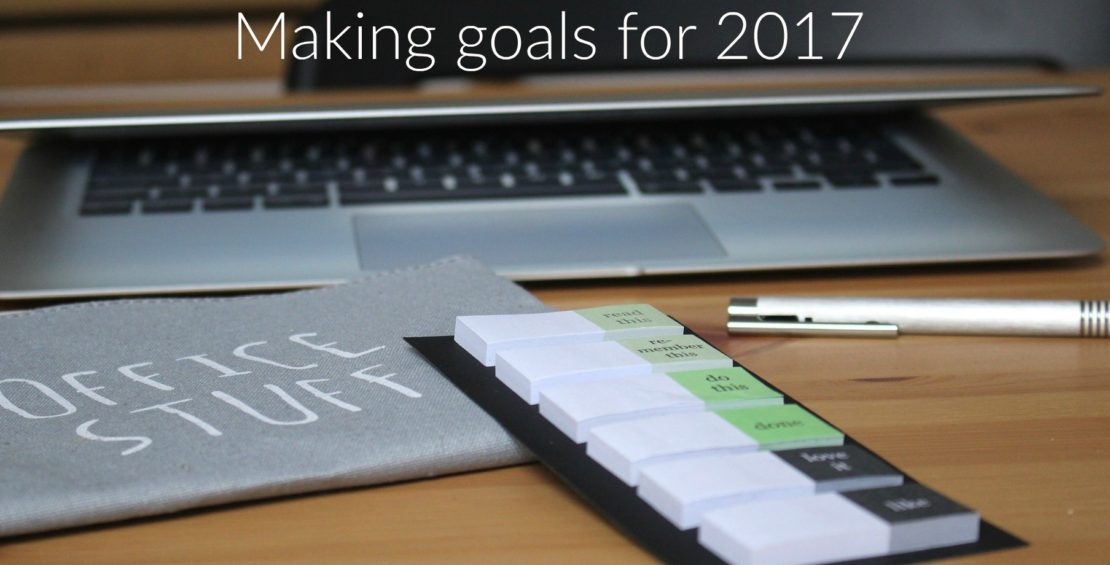 Making goals for 2017
