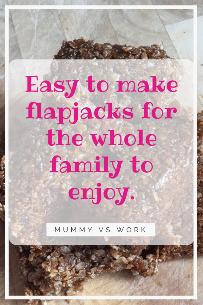 Easy to make flapjacks for the whole family to enjoy