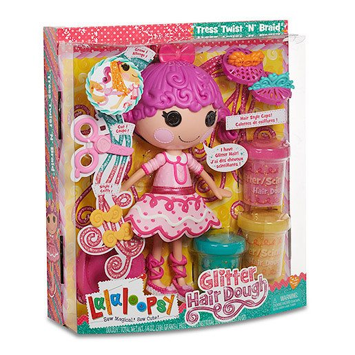 Prize Draw* Lalaloopsy Glitter Hair Dough Activity Doll