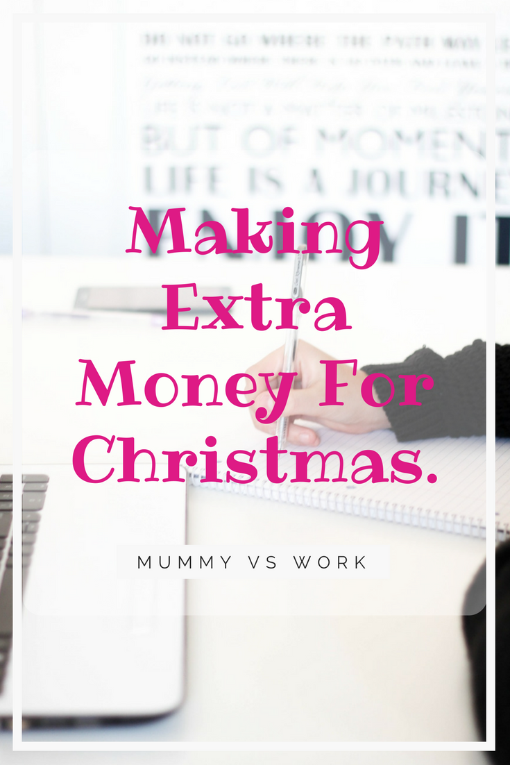 Making Extra Money For Christmas