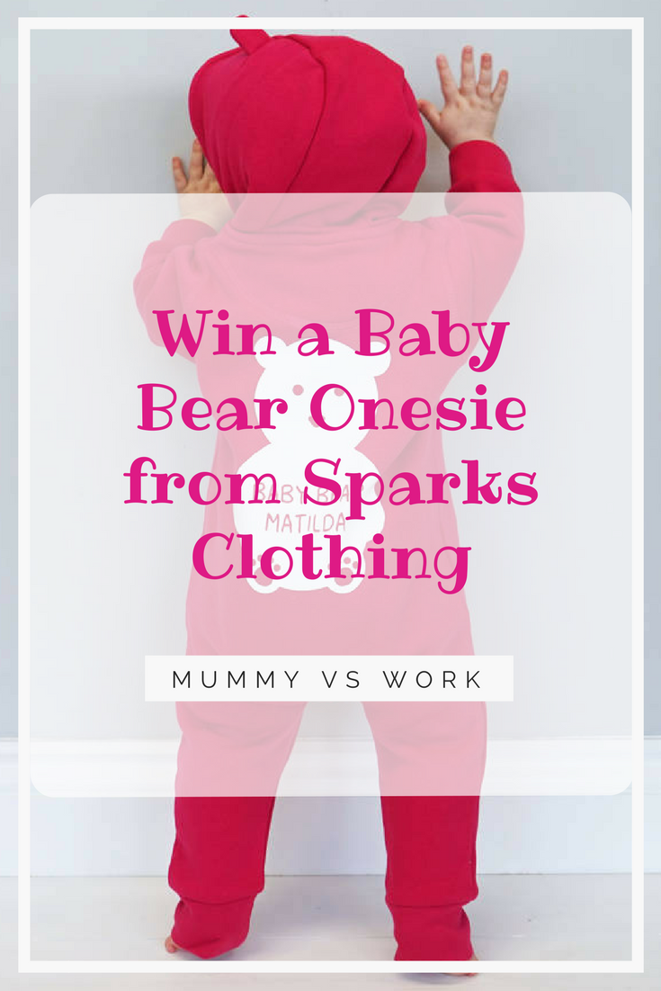 *Prize draw* Baby Bear Onesie from Sparks Clothing