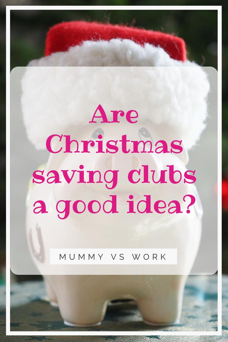 Are Christmas saving clubs a good idea?
