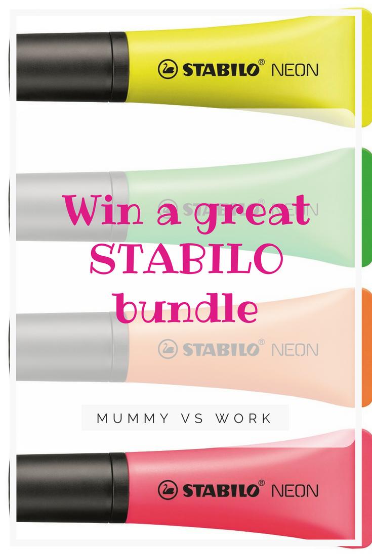 *Prize Draw* STABILO bundle