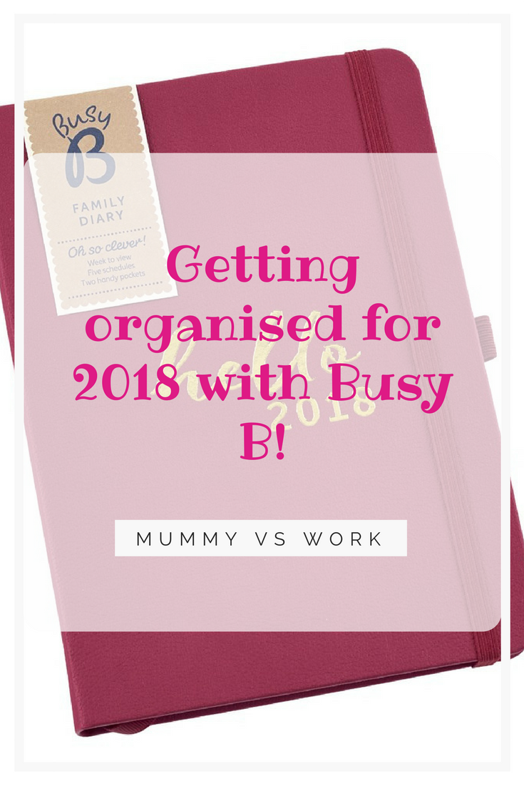 Getting organised for 2018 with Busy B!