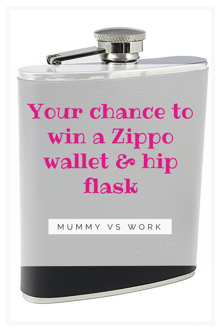 *Prize Draw* Zippo wallet & hip flask