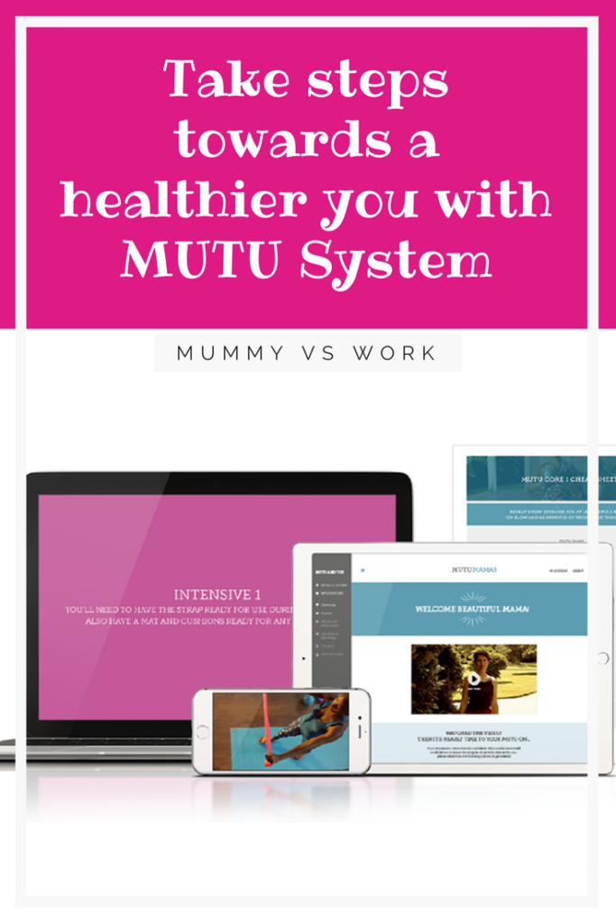 Take time out and steps towards a healthier you - my review of the MUTU System - perfect for mums wanting to get a healthier body