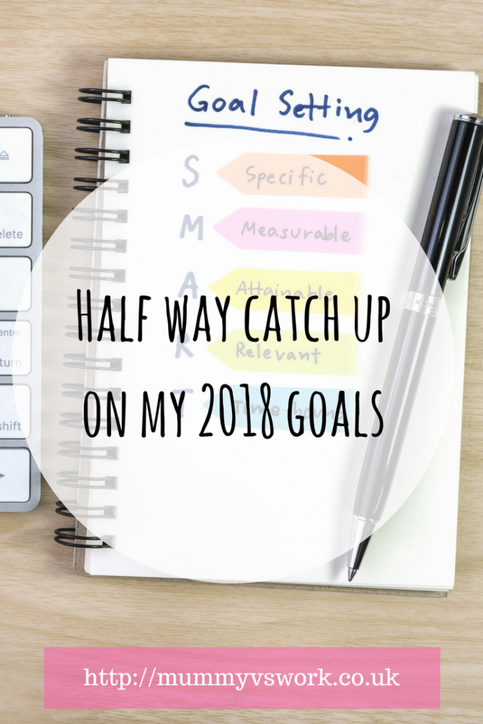 Half way catch up on my 2018 goals