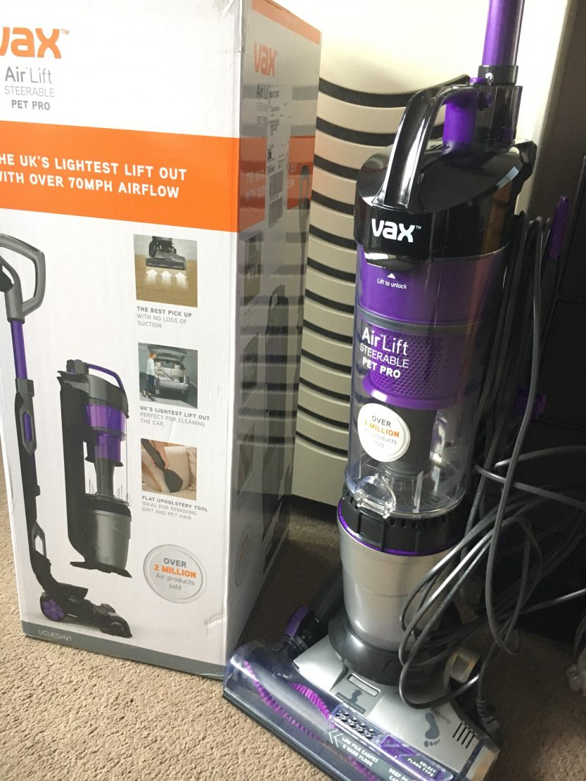 Review Vax Air Lift Pet Pro Upright Vacuum Cleaner