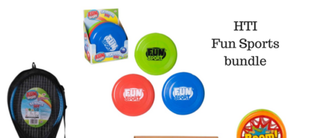 *Prize Draw* HTI fun sports bundle