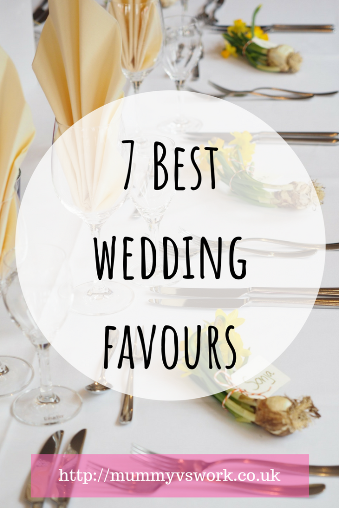 7 best wedding favour ideas