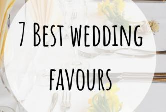 7 Best wedding favours