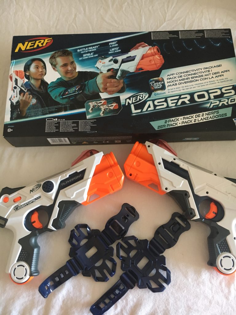 Our honest review of the Nerf Laser Ops Pro Alphapoint #Review #Nerf