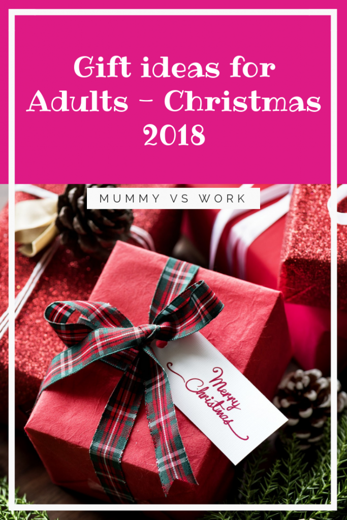Gift ideas for Adults - Christmas 2018