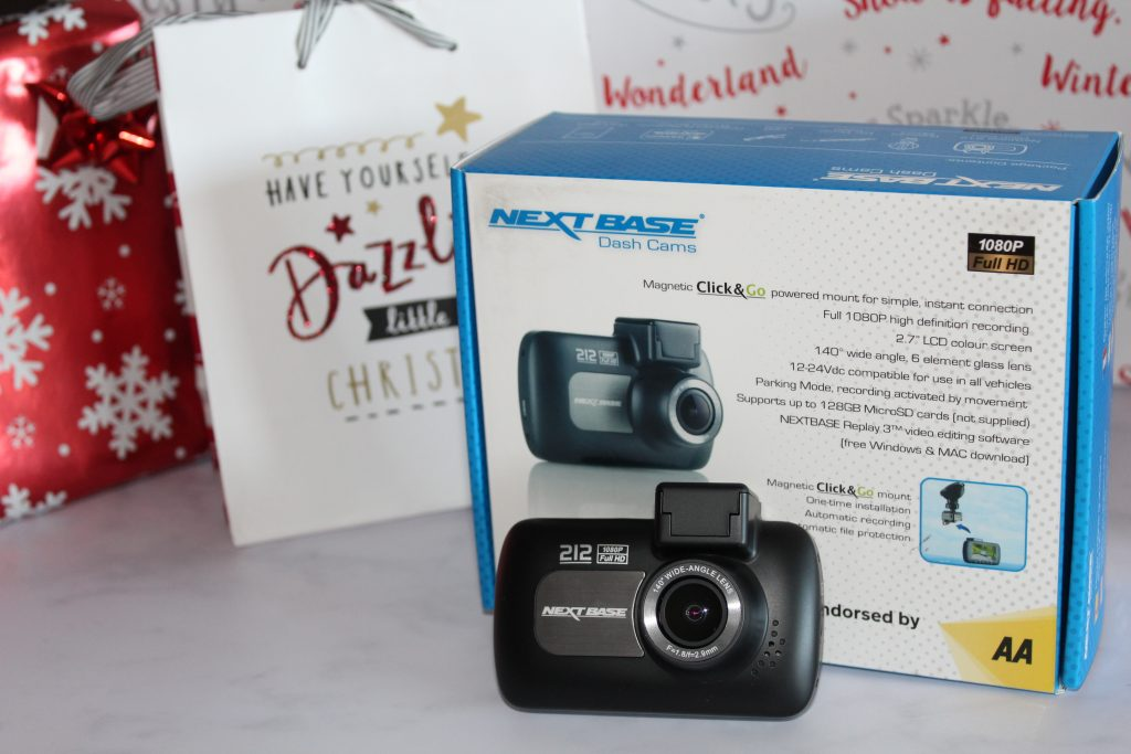 Gift ideas for Adults - Christmas 2018 -Nextbase 212 dash cam