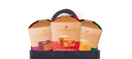 *Prize draw* Luxury Festive fudge gift set with jute bag
