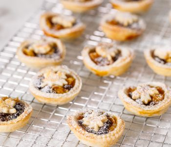 Maple mince pies – perfect for the whole family this Christmas