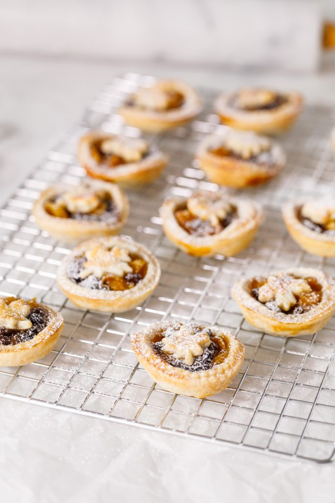 Maple mince pies