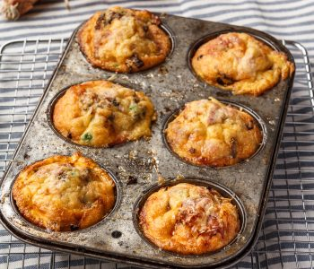 Use up your leftovers with these muffin tin frittatas