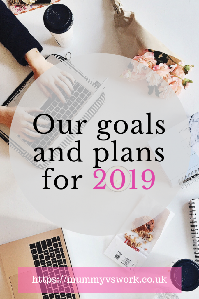 Our goals and plans for 2019