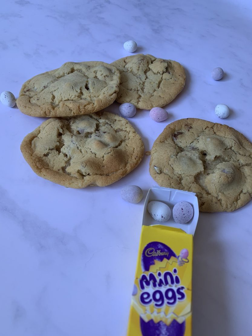 Mini egg cookies the whole family will love
