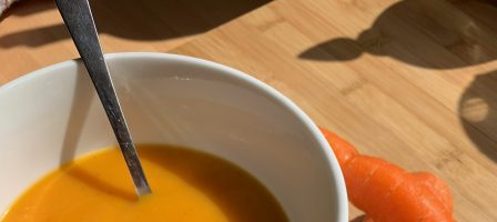 Carrot and sweet potato soup recipe
