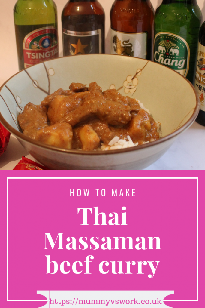How to make Thai Massaman beef curry