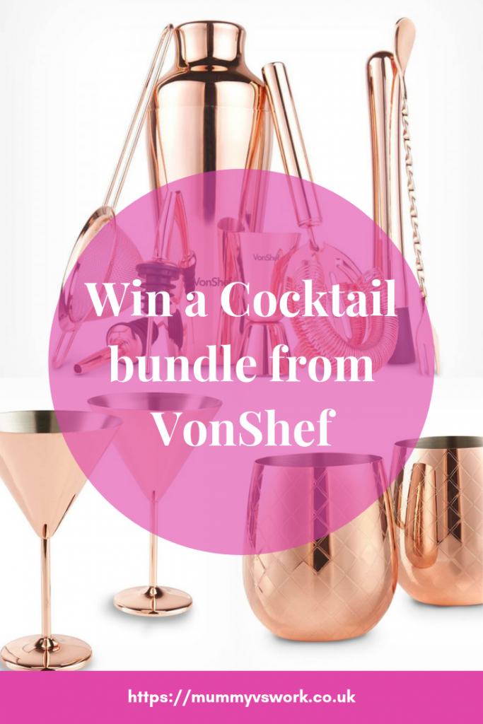 Win a Cocktail bundle from VonShef