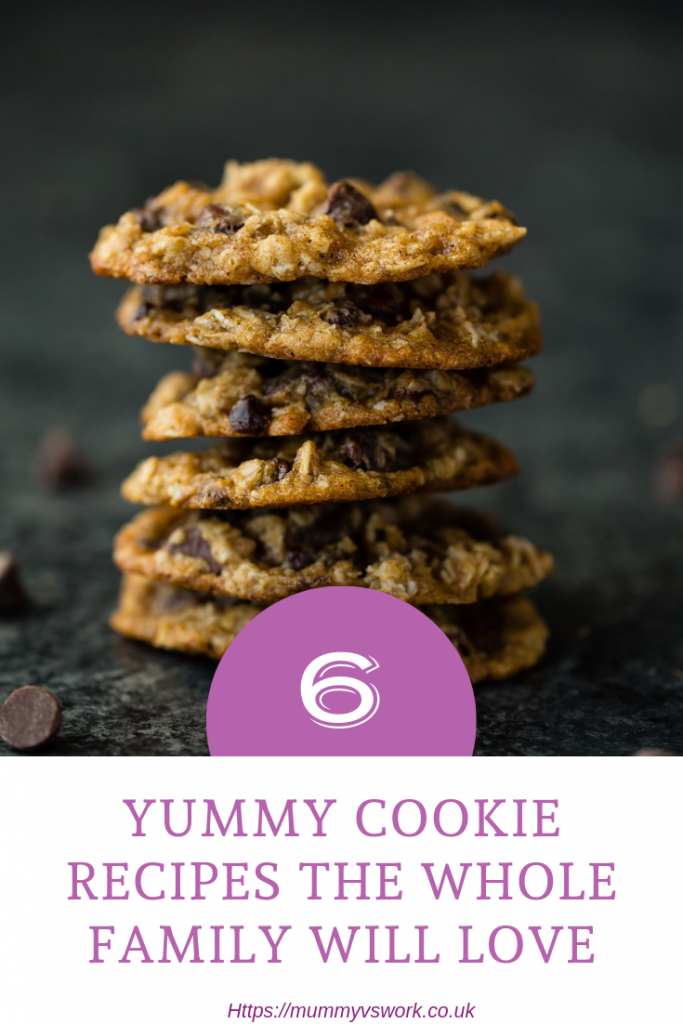6 Yummy cookie recipes the whole family will love #Cookies #Baking #GBBO