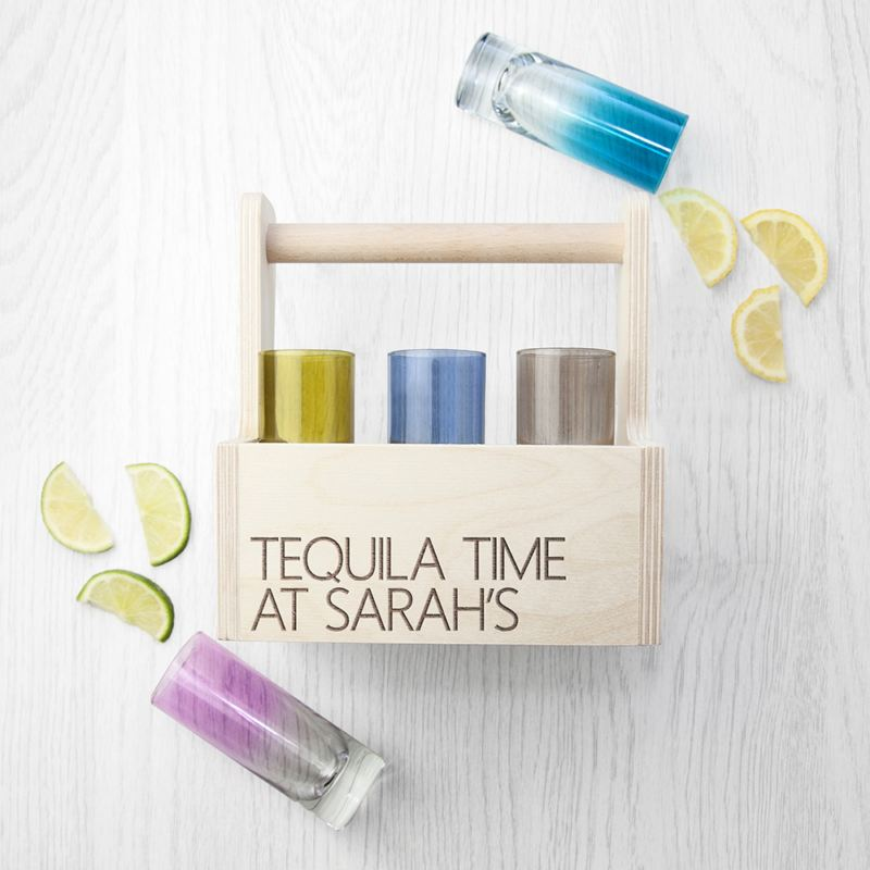 Win a LSA Coloured Shot Glass Trug from The Personalised Gift Shop