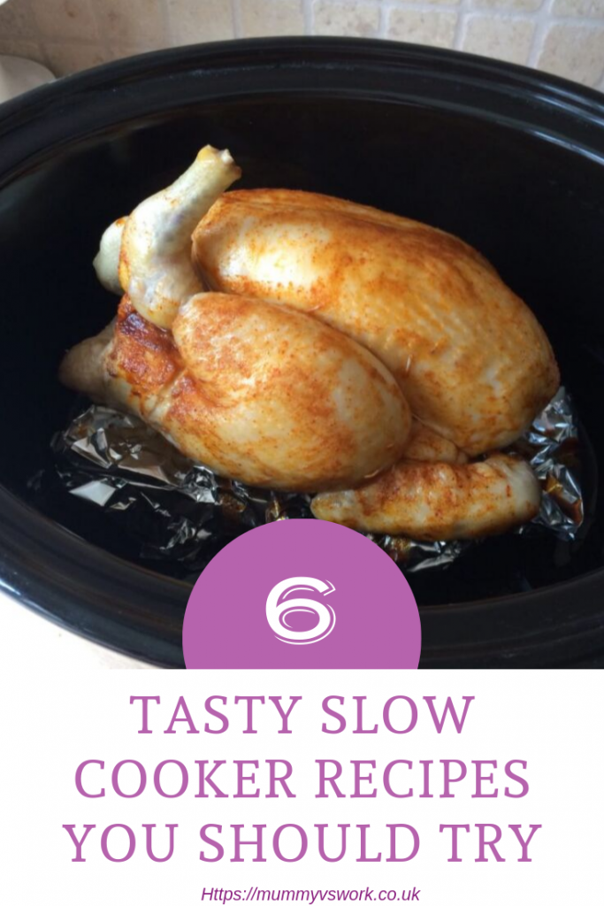 Foodie Friday - 6 yummy slow cooker recipes you should try