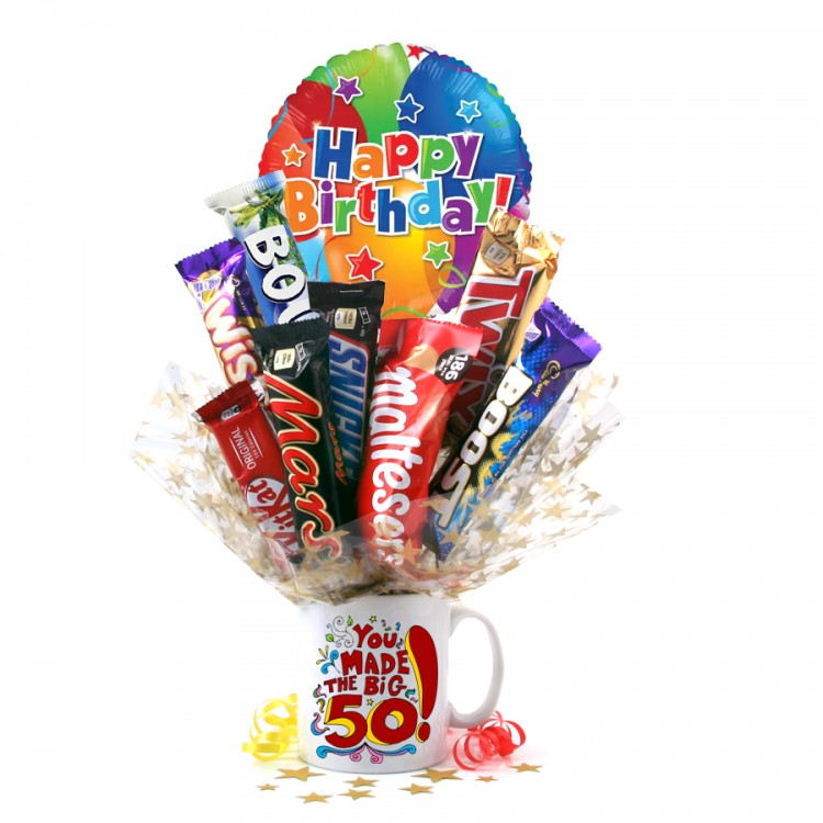 Chocolate Medley Bouquet from Smart Gift Solutions