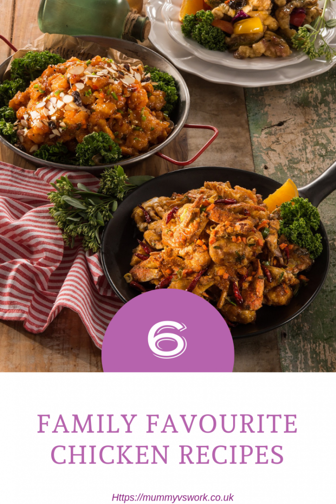 Foodie Friday - 6 Family favourite chicken recipes