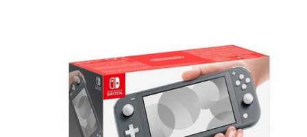 *Christmas prize draw* Nintendo Switch Lite Grey Console with Pokemon Shield & Minecraft