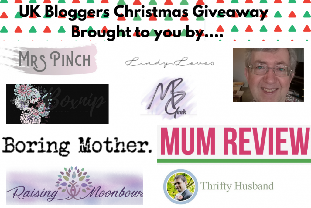 UK Blogger Xmas giveaway - Win one of 5 Virginia Hayward The Magic Of Christmas Hampers