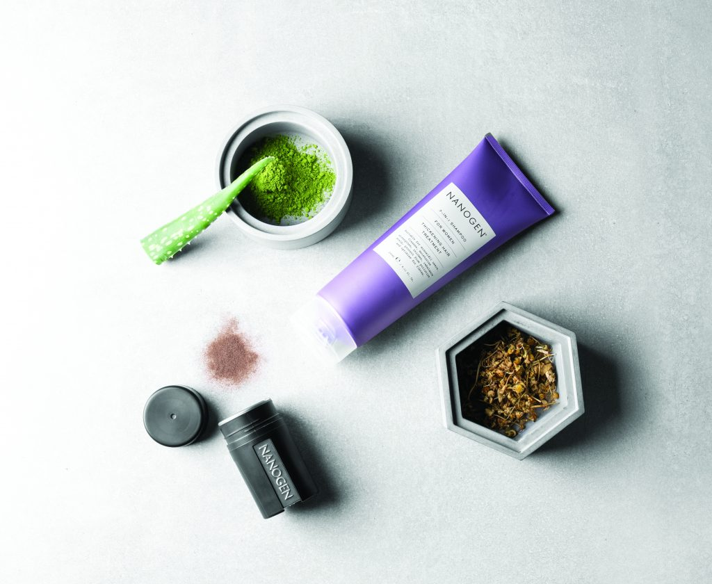 Win one of 2 sets of Nanogen hair goodies