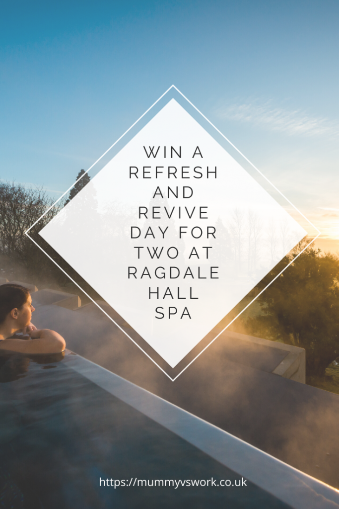 Win a Refresh and Revive Day for Two at Ragdale Hall Spa