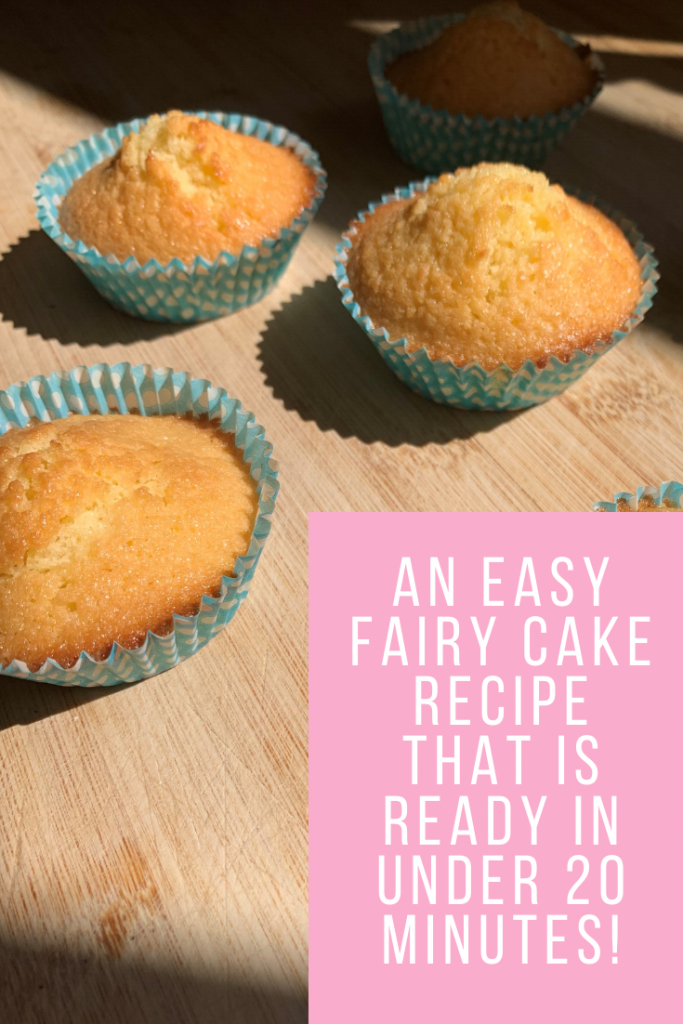An easy fairy cake recipe that is ready in under 20 minutes!