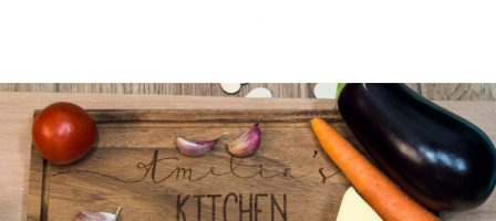 *Prize draw* Personalised Acacia Serving Chopping Board