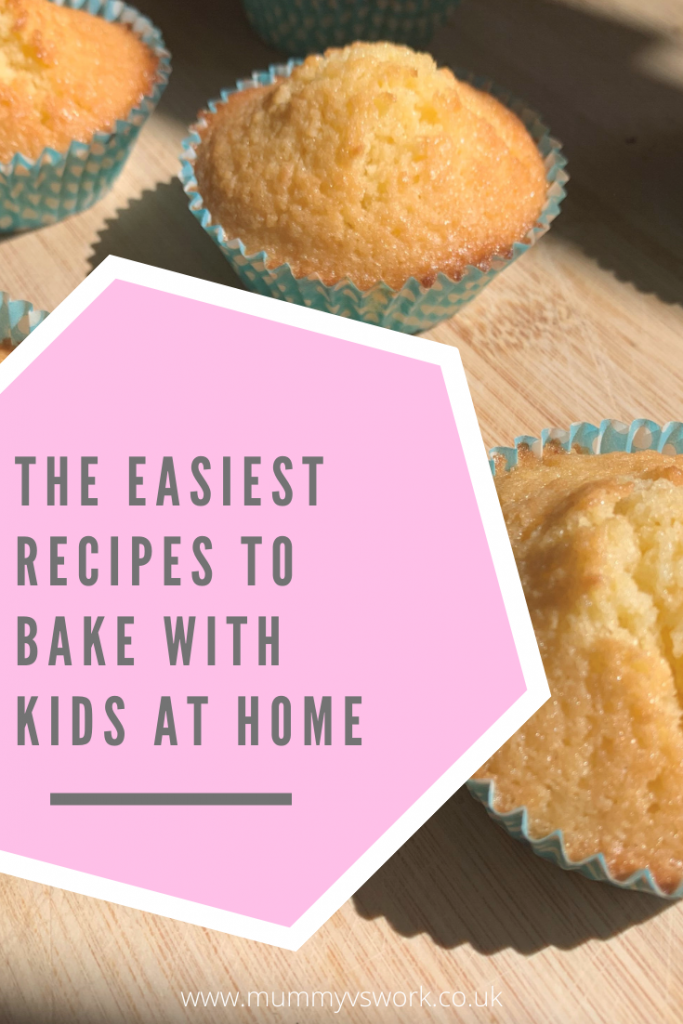 The easiest recipes to bake with kids at home