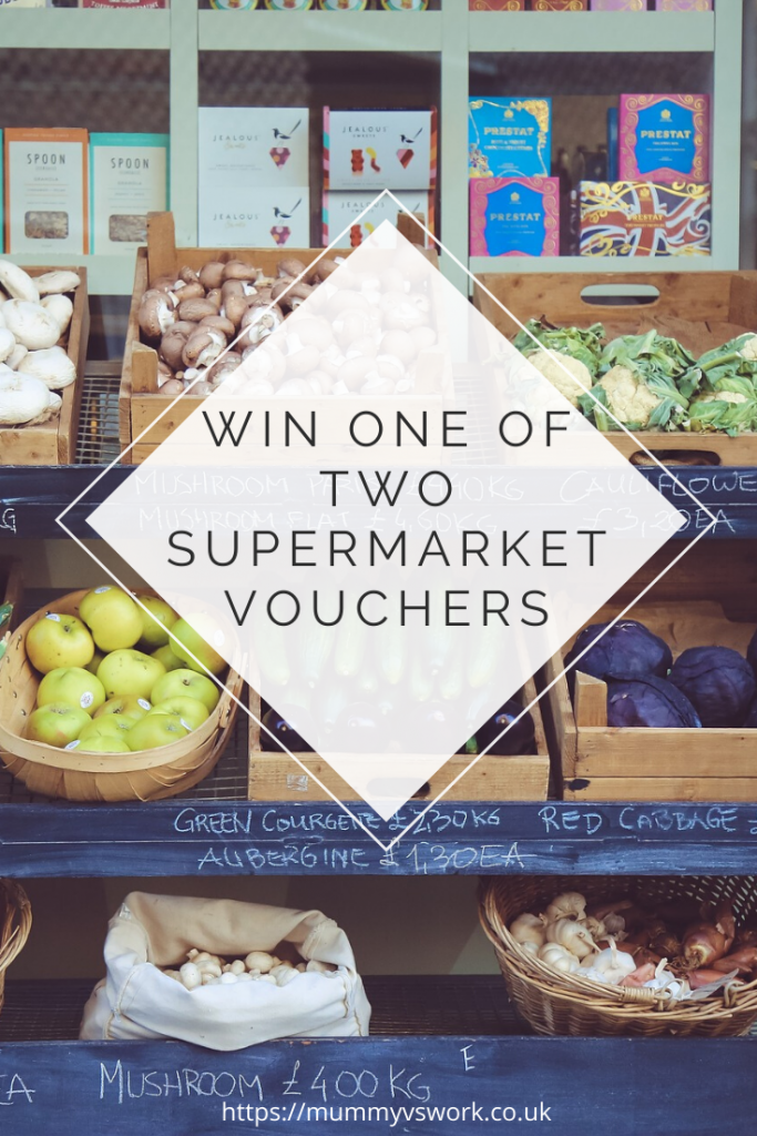 Win one of two supermarket vouchers