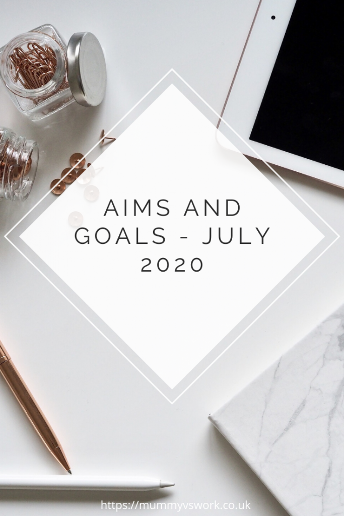 Aims and goals July 2020