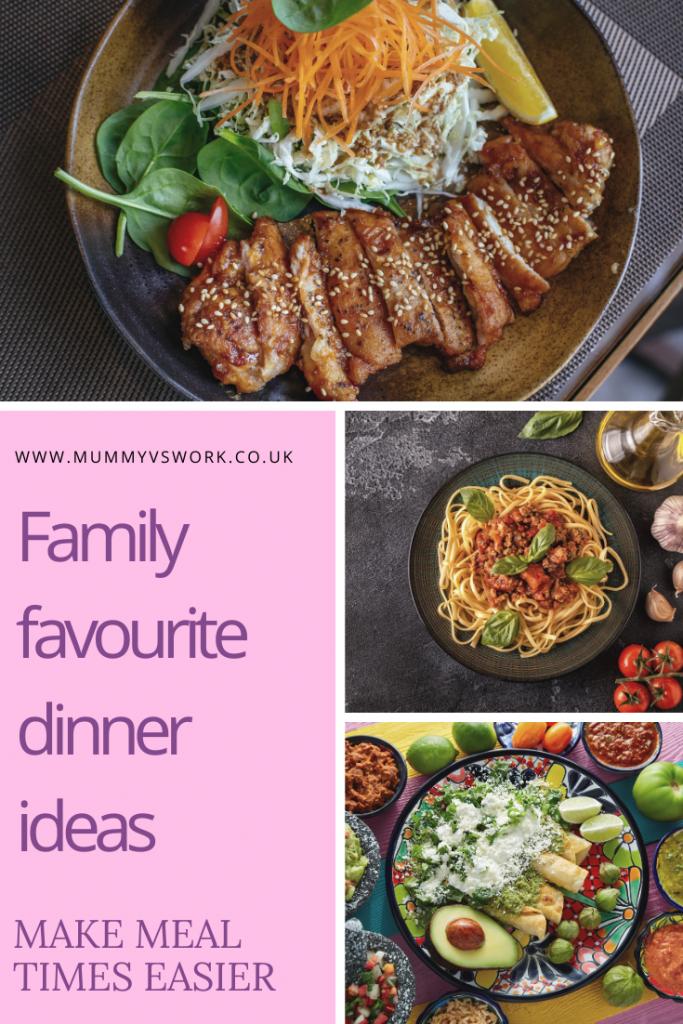 Family favourite dinner ideas