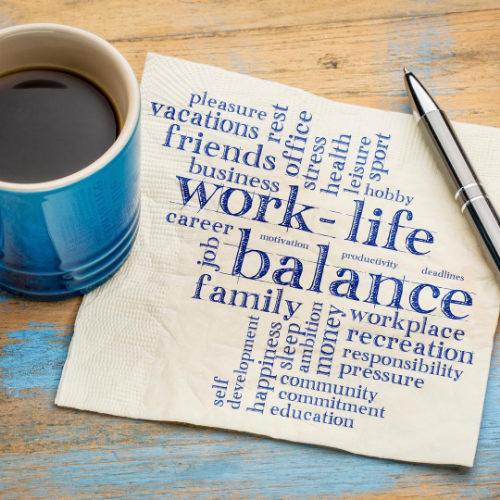 Finding the right work to life balance
