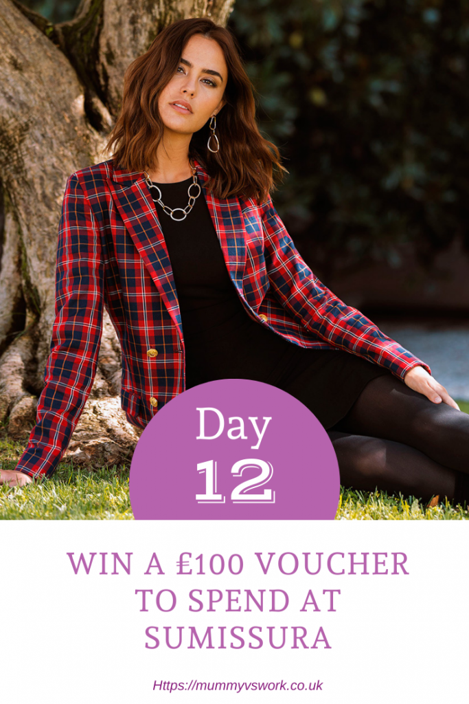 Day 14 - Win a £100 Voucher to spend at Sumissura